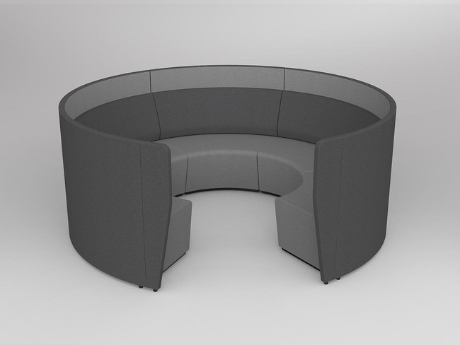 Mod Arc 5 with wall-Inner Black