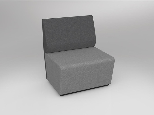 Mod Loop Straight ABW Seating with Backrest