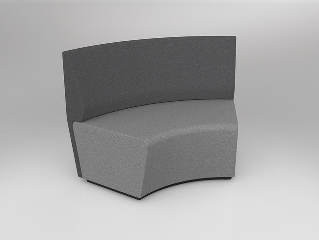 Mod Loop Curved 60 Degree ABW Seating - Outer Backrest