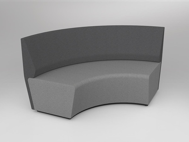 Mod Loop Curved 90 Degree ABW Seating with Backrest
