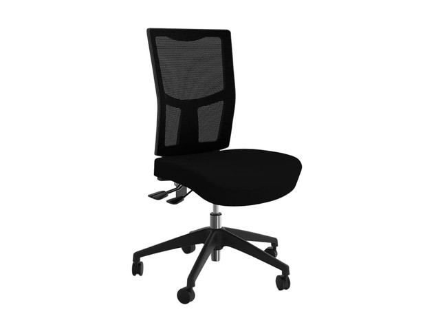 Neoteric Task Office Chair - Breathe Black Fabric