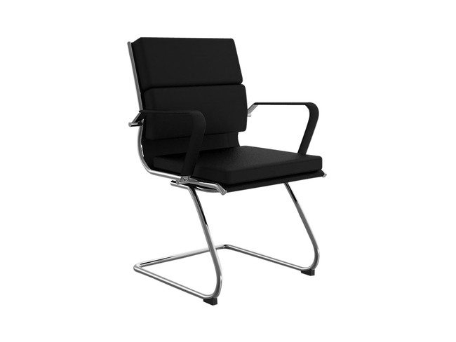 Model Executive Meeting / Visitor Chair- Mid Back - Cantilever Base