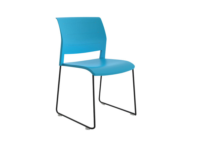Bold Sled Visitor Training Room Chair