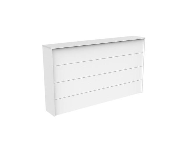 Axle Reception Counter Facade - White