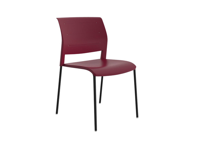 Bold Stackable Visitor / Break Out Area Chair - 4 Leg