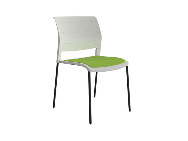 Bold Visitor / Breakout Area Chair with Upholstery