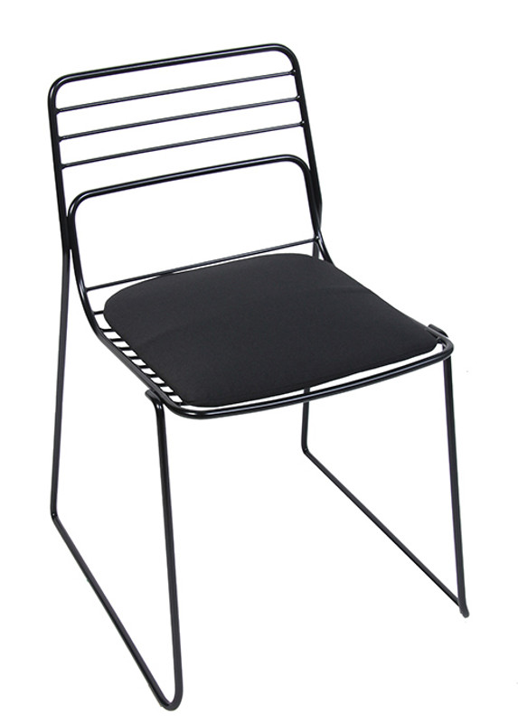 Cage Visitor Chair with Pads