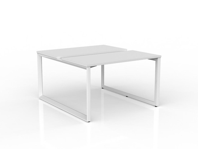 Smith 2 Person Double Sided Desk Workstation