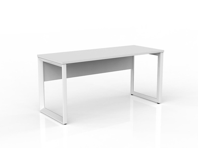 Smith Straightline Office Desk with Modesty Panel