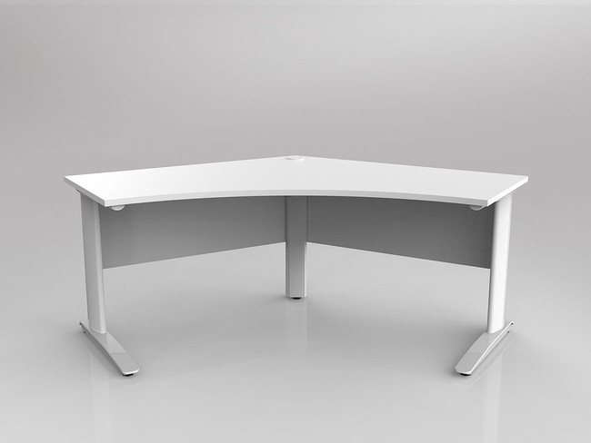 Arrow 120 Degree Office Desk