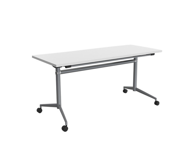Simple Mobile Flip Top Table - Flip and Stack