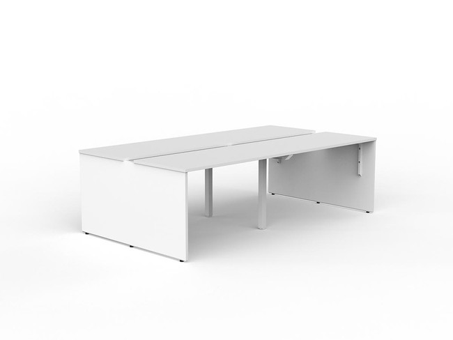 Blaze 4 Person Office Workstations - Double Sided Desks