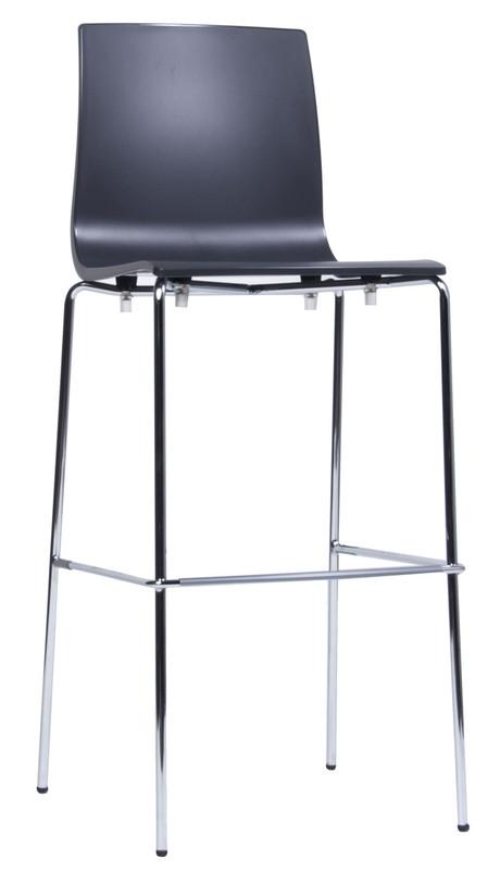 Alice Metal Leg Bar Stool - 800mm Height