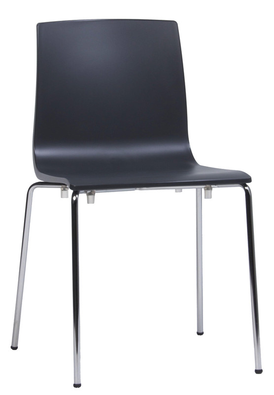 Alice Stackable Visitor / Breakout Area Chair - Metal Leg