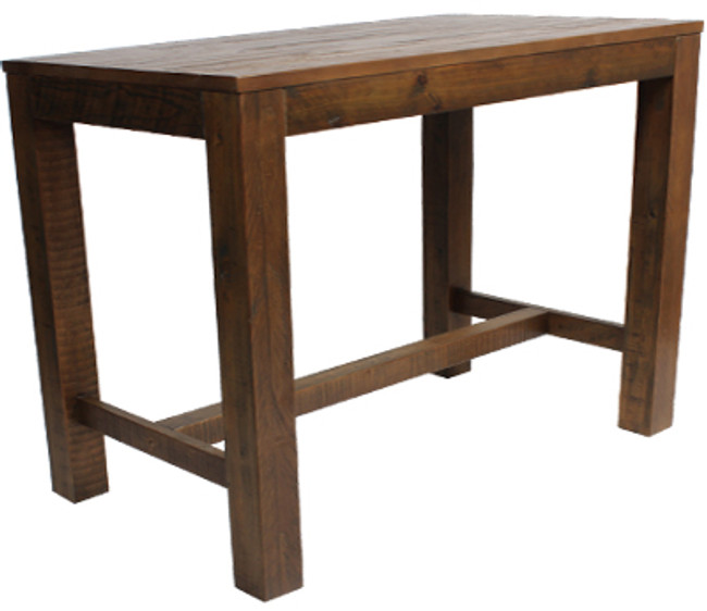 Bar Table Rustic 1800MM - Walnut