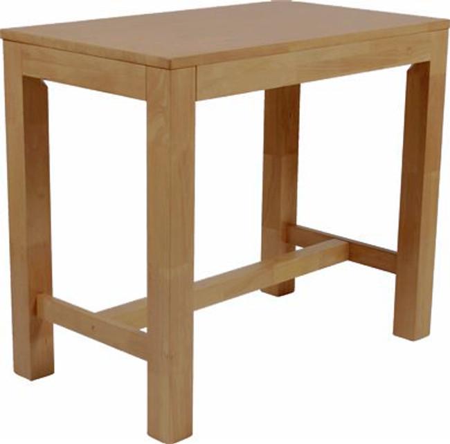 Chunky Rubberwood Bar Table