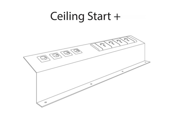 Softwire Ceiling Start Kit