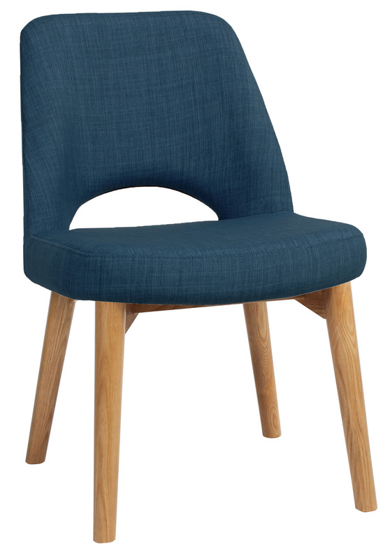 Albury Visitor Chair - Timber Base