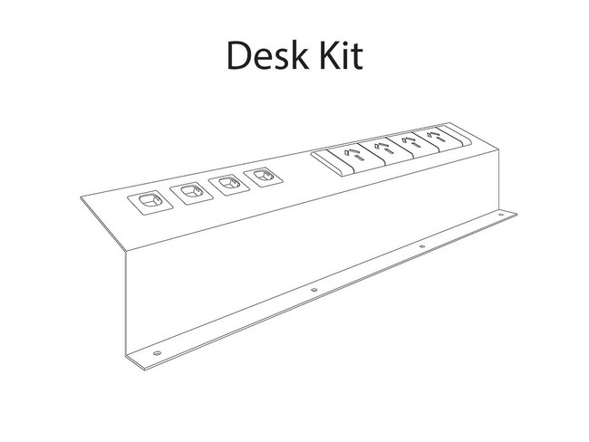 Softwire 10 Desk Kit