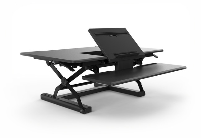 Arise Sit to Stand Desk Riser Ergolator