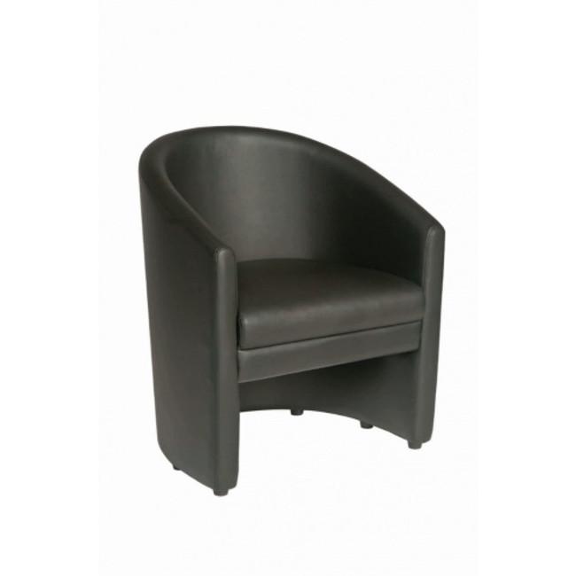 Rapp Tub Chair - Black PU