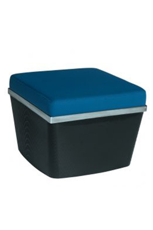 Pouf for Domino Modular Waiting Room Lounge