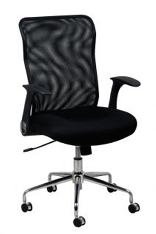 Robby Mesh Back Office Chair - Black