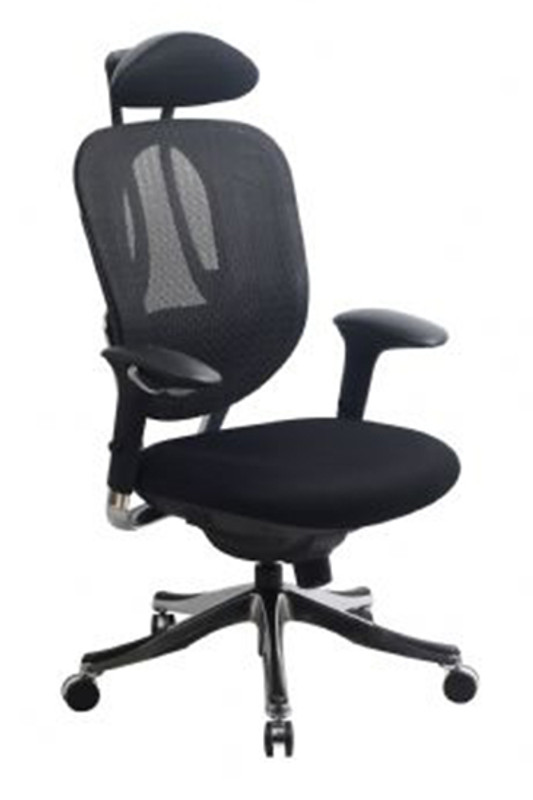Alicante Mesh Executive Chair - Black