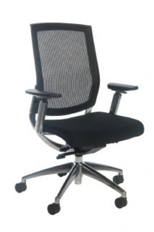 Brooklyn Mesh Back Executive Office Chair - Black