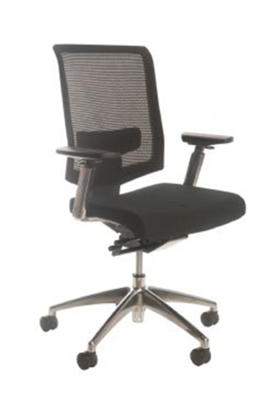 Fenster Mesh Back Executive Office Chair - Black