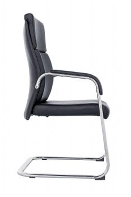 Scherzo Visitor Chair - Black PU