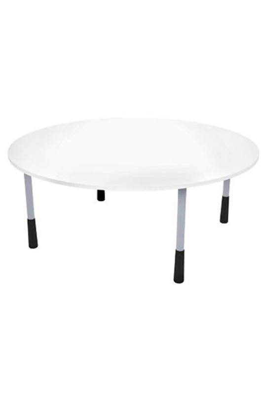 E-Scape Round Meeting Table in White
