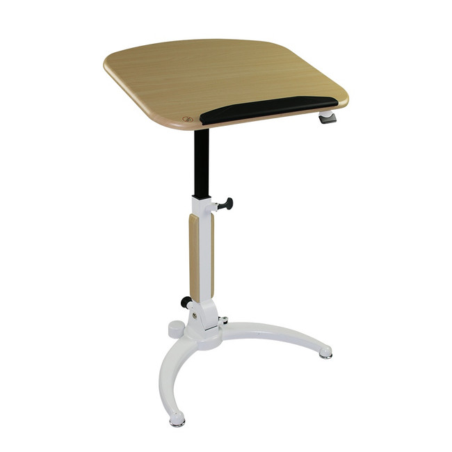 Upside Portable Manual Lift Desk / Lectern - Flip Top Table