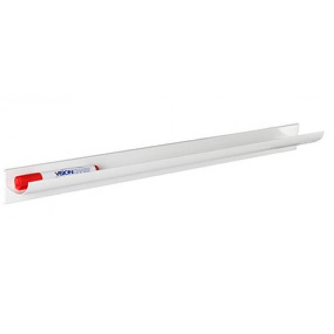 Magnetic Pen Tray - White