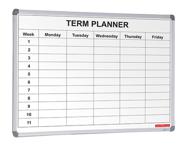 School Planner 1 and 4 Term