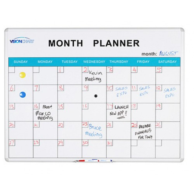 Deluxe Perpetual Month Planner
