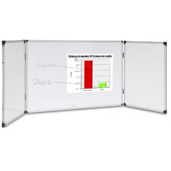 Modular Private Cabinet Whiteboards - Hinged Door
