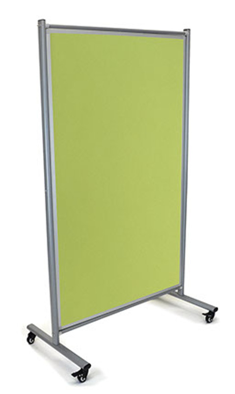 MODULO Mobile Communication Fabric Pinboard on Wheels
