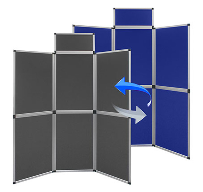 Modular Display / Presentation Panels  - Temporary Partition Screens