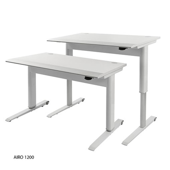 AIRO - Push Button Height Adjustable Sit Stand Desk