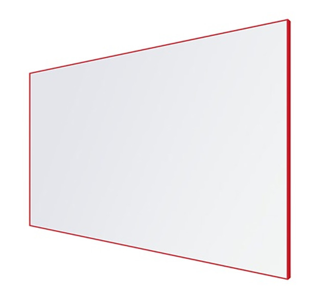 EDGE LX8000 Architectural Coloured Framed Porcelain Magnetic Whiteboard