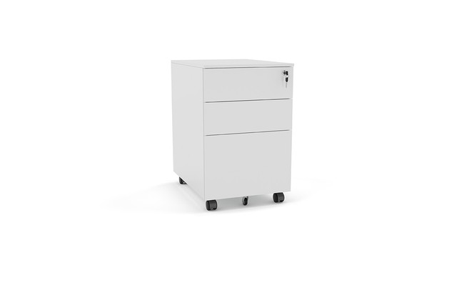 Nimble Metal Mobile Under Desk Drawer Unit