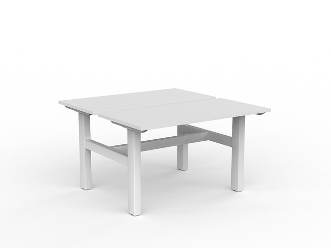 Nimble 2 Person Desk - Fixed Height Workstations