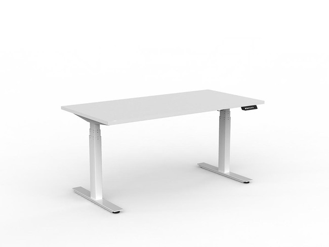 Nimble Electric Sit Stand Office Desk - Double Motor