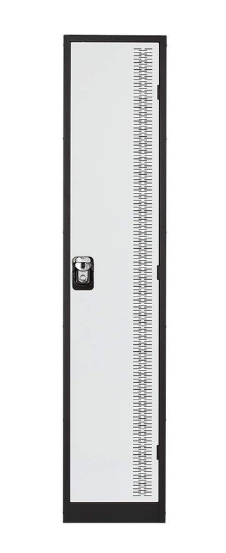 Contemporary Metal Lockers - One Tier