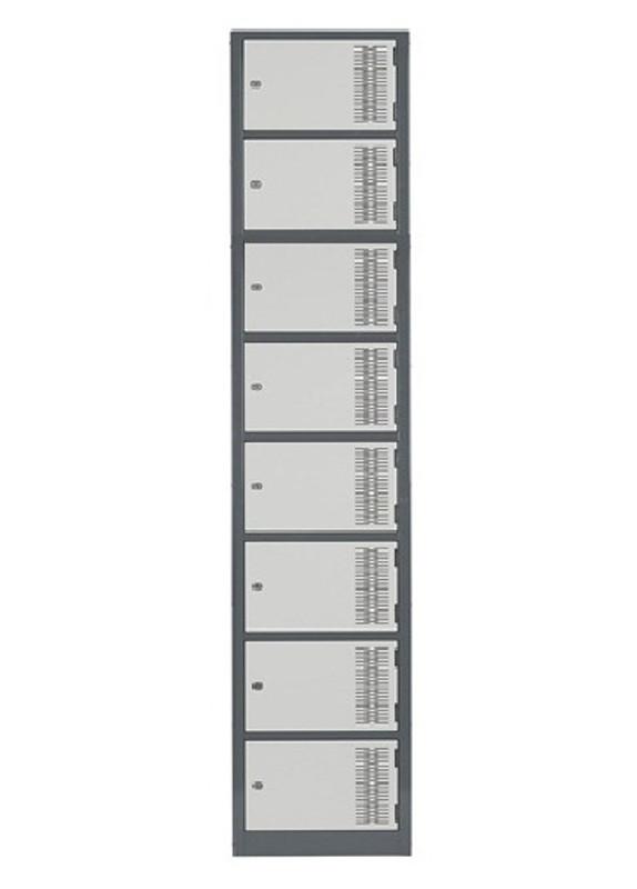 Eight Door Contemporary Lockers