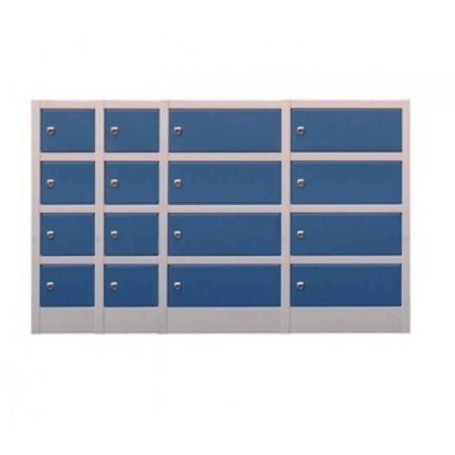 Midi Metal Lockers - 4 Doors