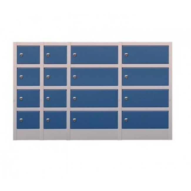 Midi Metal Lockers - 16 Doors