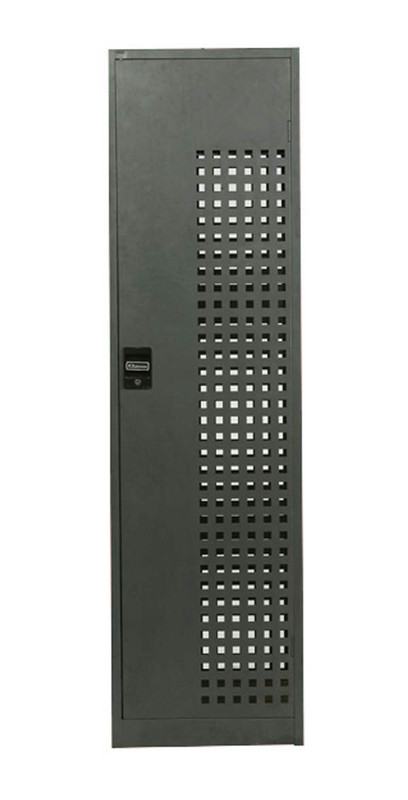 Perforated Steel Lockers - Four Tier