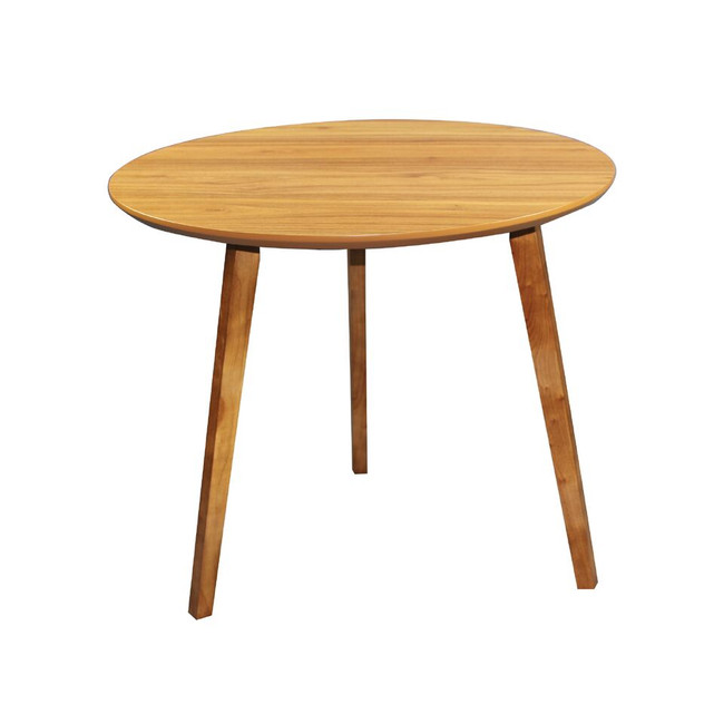 Arbor Executive Round Meeting Table- Timber - 850mm - American Walnut